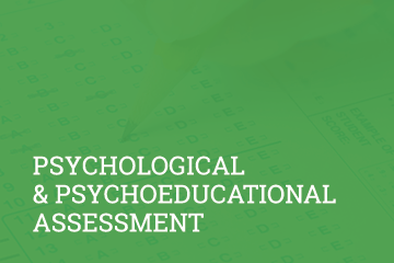 Psychology 360 provides psychological assessments, therapy and academic support for children, adolescents, and adults.